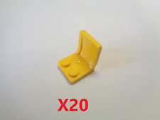 X 5 4079 Neuf. LEGO brun rougeâtre siège 2 x 2