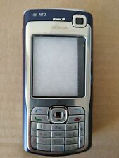 REPLACEMENT FOR A NOKIA N70 HOUSING FASCIA COVER Silver/Navy