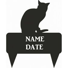 Russian Blue Rectangular Memorial Plaque