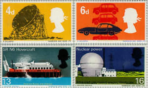 EBS Great Britain 1966 - British Technology - SG 701-704 MNH**