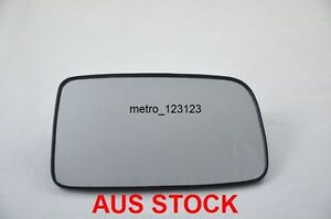 RIGHT DRIVER SIDE MITSUBISHI LANCER 2003-2007 MIRROR GLASS WITH BACK PLATE