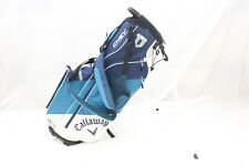 Brand New Callaway Chev 17 Golf Stand Bag Carry White Teal Navy 17