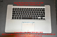 "Apple MacBook Pro Unibody 15"" A1286 Top Upper Case + Bottom Cover Mid 2010 11 12"