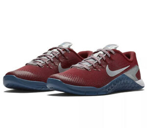 Nike Metcon 4 X Americana Trainer Crossfit Shoes 924594-604 Red/Blue Women's 9.5
