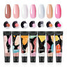 7 Bottles Yayoge UV Quick Extension Poly Nail Gel Polish Manicure Tools DIY New