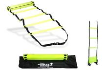 New 360 Speed Agility Sports Training Ladder Flat Rungs Outdoor Fitness 4 Meter