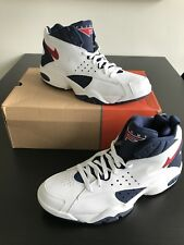 Men's 2004 Nike Air Maestro Pippen White/Blue/Red Shoes Size 13 Kith Basketball