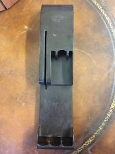Vintage Cutco Knife Holder Rack Wall Mount Or Drawer Brown