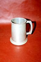 "Antique 5"" Tall English Sheffield DON PEWTER One Pint Tankard Mug Stein"
