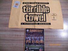 Pittsburgh Steelers vs. Dallas Cowboys dated 11-13-16 terrible towel + program