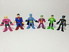 Fisher Price Imaginext Toy Figures Set of 6 DC Comics Batman Superman