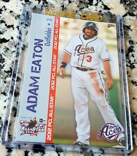 ADAM EATON 2012 All Star PCL Reno Aces Rookie Card RC Washington Nationals $$$