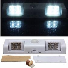 8 LED Cabinet Light Auto PIR Night Wardrobe Cupboard Closet Motion Sensor Lamp