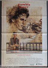 Cinema Poster: RUMBLEFISH 1983 (One Sheet) Matt Dillon Mickey Rourke Chris Penn