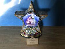 "Jim Shore 2009 ""Winter Miracle� Lighted Nativity Diorama: W/ Box & Card #4015888"