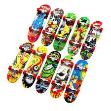 24Pcs Fingerboards Mini Finger Board Deck Skate Skateboard Kids Games Toys