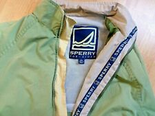 SPERRY TOP-SIDER Mens Green Boating Jacket Size Large