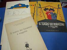 IL TEATRO DEI BURATTINI A SOGGETTO-FAVETTINI CARLUCCI BELLONI- 1953 - D
