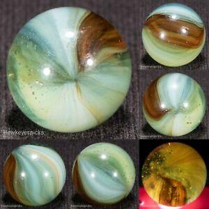 GORGEOUS Master Made SUNBURST Vintage Marble 9/16 Mint- hawkeyespicks sg