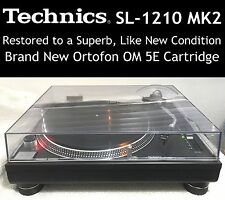 Technics SL1210MK2 Turntable Superb, Like New Condition Restored Must See!!