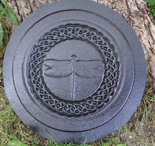 Celtic knot dragonfly stepping stone mold bug insect plastic mould