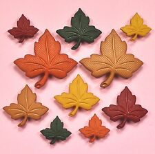 DRESS IT UP Buttons Autumn Leaves 323 - Autumn Embellishments