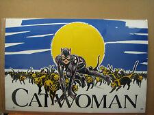Vintage 1991 DC Comics Cat Woman Poster 11870