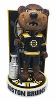 Blades the Bruin Boston Bruins Stanley Cup Champions Mascot Bobblehead NHL