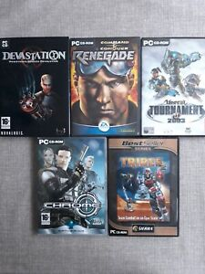 5 X PC GAME JOB LOT BUNBLE PREOWNED