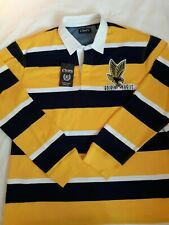 Marquette Golden Eagles Rugby Jersey XXL Retro Long-Sleeved - Brand New