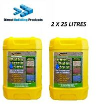 Everbuild 405 Path & Patio Seal and Seal Paving Sealant - 2 X  25L  ( 50 Litre )