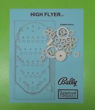 1977 Bally High Flyer pinball / bingo rubber ring kit