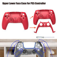 Upper Lower Face Case Cover Housing Shell Decorative Board For PS5 Controller
