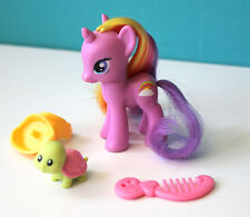 My Little Pony G4 Rainbow Flash International Exclusive saddle pet turtle comb