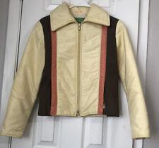 Beconta Vintage Women Ski Jacket Yellow Size 8