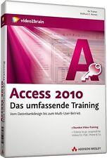 video2brain Access 2010 das umfassende Video-Training, 7 Stunden auf DVD, NEU