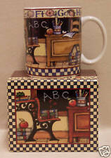 CUTE ABC TEACHERS GIFT COFFEE MUG & MATCHING GIFT BOX