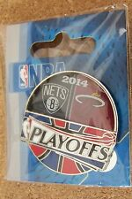 2014 NBA Playoffs pin Brooklyn Nets vs Miami Heat