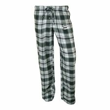 ($35) New York Jets nfl Crossroad Flannel Jersey Lounge Pants WOMENS/LADIES m