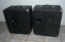 Traynor BW-4 Koval Pair of Black PA Public Address Speakers by Yorkville Sound