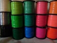 75 YDs Rexlace Plastic Lace Boondoggle 15 Light-to-Dark Rainbow #2 ~ 5 YDs Each