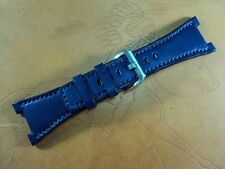 IWC Ingenieur Mission Earth dark blue leather strap watch band IWC工程師地球任務牛皮錶帶訂製
