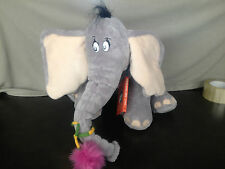 Horton The Elephant stuffed animal with book