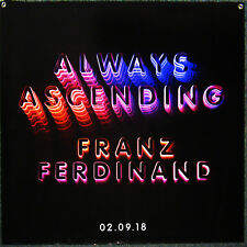 "Franz Ferdinand Always Ascending Huge Promo Poster (3-foot square)36"" X 36"" Nm"
