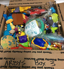 MIP & LOOSE Big Lot #3 ARBY'S FAST FOOD TOYS Flea Market Seller 70+ Pc 5+ POUNDS
