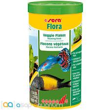 Fish Food Flakes Sera Flora Veggie Flakes 1000 mL FAST FREE USA SHIPPING