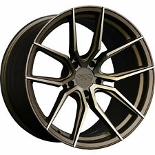 "XXR 559 19"" x 8.5J ET20 5x114.3 BRONZE ANODISED RIMS ALLOYS WHEELS SET Z3410"