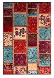 Persian Rug Floor Carpet Runner Brand NewBlue Brown100cm x150Authentic Oriental