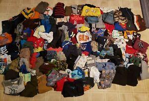 *Wholesale Lot Boys 150+* clothes - shirts, pjs, pants, shorts infant & toddler