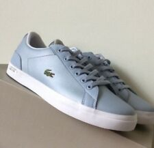 lacoste women shoes size 4 Baby Blue Trainers
